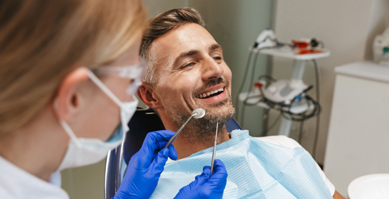 Candidate For Dental Exams And Cleanings